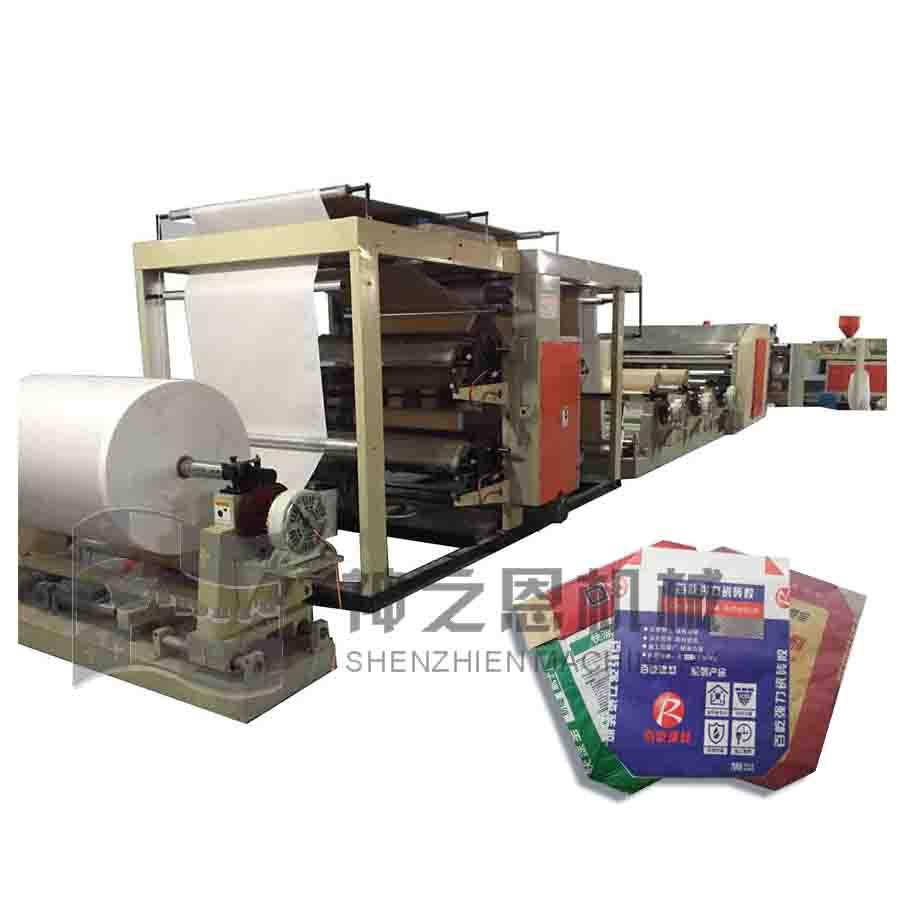 多层纸袋印刷制袋一体机