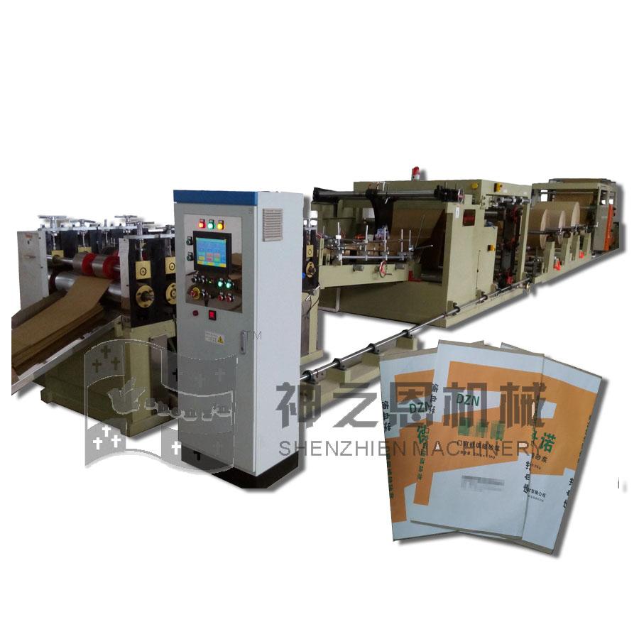 单包胶印纸自动制筒机